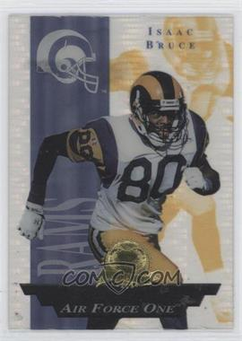 1996 Collector's Edge President's Reserve Air Force One #29 - Isaac Bruce /2500