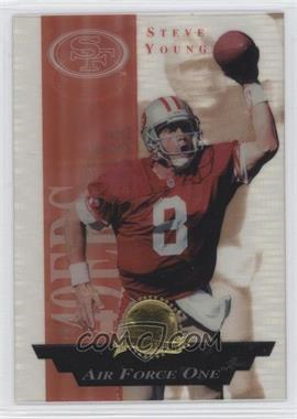 1996 Collector's Edge President's Reserve Air Force One #3 - Steve Young /2500