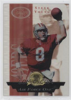 1996 Collector's Edge President's Reserve Air Force One #3 - Steve Young /2000
