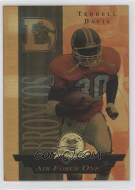 1996 Collector's Edge President's Reserve Air Force One #35 - Terrell Davis /2500