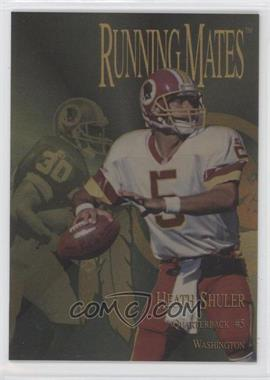 1996 Collector's Edge President's Reserve Running Mates Gold #RM18 - Heath Shuler, Brian Mitchell /100