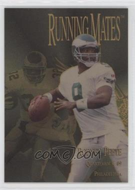 1996 Collector's Edge President's Reserve Running Mates Gold #RM19 - Rodney Peete, Ricky Watters /100