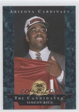 1996 Collector's Edge President's Reserve The Candidates #1 - Simeon Rice