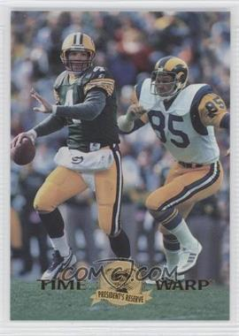 1996 Collector's Edge President's Reserve Time Warp CS #6 - Brett Favre, Jack Youngblood /500