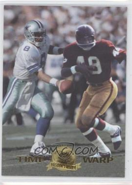 1996 Collector's Edge President's Reserve Time Warp CS #9 - Troy Aikman, Bobby Mitchell /500