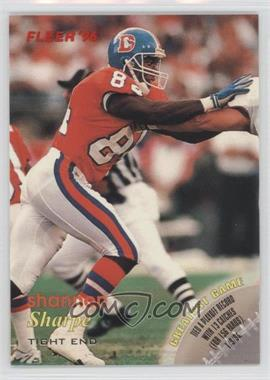 1996 Fleer [???] #100 - Shannon Sharpe