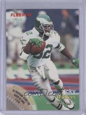 1996 Fleer [???] #57 - Ricky Watters