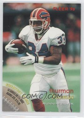 1996 Fleer [???] #98 - Thurman Thomas