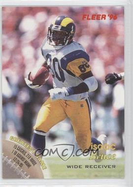 1996 Fleer Shell FACT #27 - Isaac Bruce