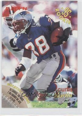 1996 Fleer Shell FACT #83 - Curtis Martin