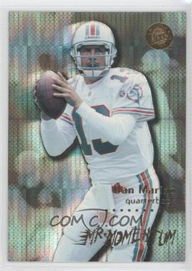 1996 Fleer Ultra Mr. Momentum #8 - Dan Marino