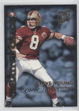 1996 Fleer Ultra Sensations Creative Chaos #5 - Steve Young, Deion Sanders