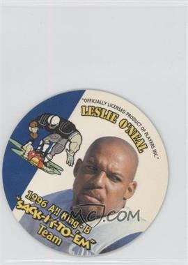 1996 KING-B Discs Sack-it-to-Em #24 - Leslie O'Neal