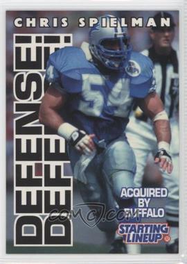 1996 Kenner Starting Lineup - [???] #CHSP - Chris Spielman