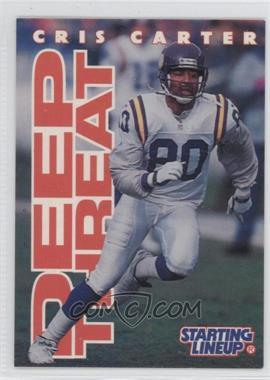 1996 Kenner Starting Lineup - [???] #CRCA - Cris Carter