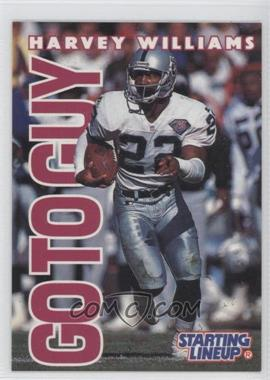 1996 Kenner Starting Lineup [???] #22 - Harvey Williams