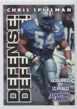 1996 Kenner Starting Lineup [???] #54 - Chris Spielman