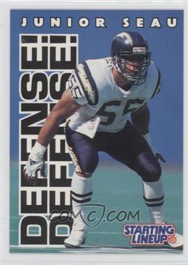 1996 Kenner Starting Lineup [???] #JUSE - Junior Seau