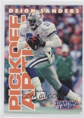 1996 Kenner Starting Lineup [???] #N/A - Deion Sanders