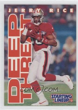 1996 Kenner Starting Lineup [???] #N/A - Jerry Rice