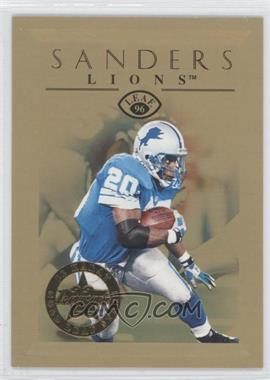 1996 Leaf 22 Karat Gold Leaf Stars #7 - Barry Sanders /2500