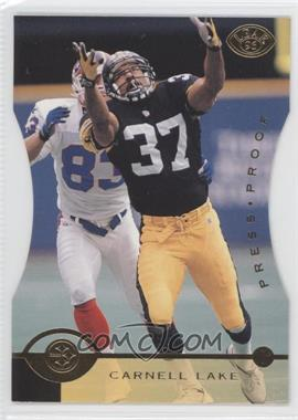 1996 Leaf Press Proof Die-Cut #64 - Carnell Lake /2000