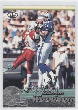 1996 Pacific Crown Collection - [Base] - Silver #105 - Darren Woodson