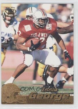 1996 Pacific Crown Collection - [Base] #177 - Eddie George