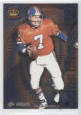 1996 Pacific Crown Collection - Bomb Squad #BS-2 - John Elway, Anthony Miller
