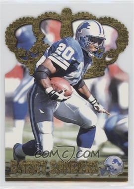 1996 Pacific Crown Collection - Gold Crown Die-Cuts #GC-3 - Barry Sanders