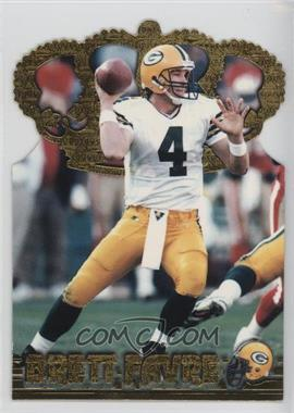 1996 Pacific Crown Collection - Gold Crown Die-Cuts #GC-9 - Brett Favre