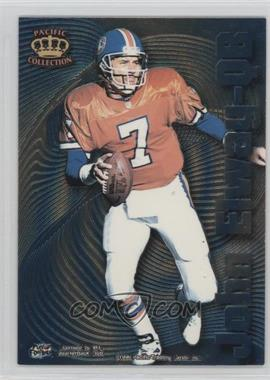 1996 Pacific Crown Collection Bomb Squad #BS-2 - John Elway, Anthony Miller