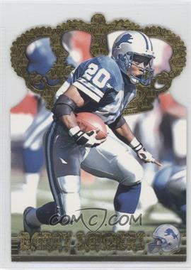 1996 Pacific Crown Collection Gold Crown Die-Cuts #GC-3 - Barry Sanders