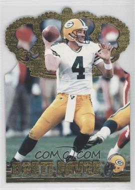 1996 Pacific Crown Collection Gold Crown Die-Cuts #GC-9 - Brett Favre