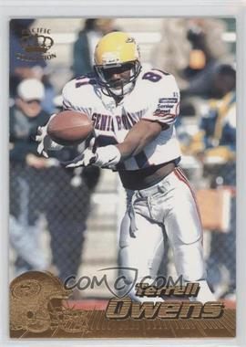1996 Pacific Crown Collection #381 - Terrell Owens
