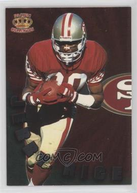 1996 Pacific Dynagon - Dynagon Duos #DD-2 - Jerry Rice