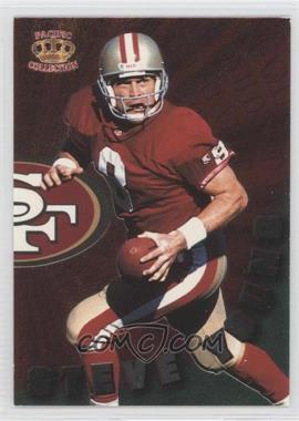 1996 Pacific Dynagon Dynagon Duos #DD-14 - Steve Young