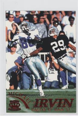 1996 Pacific Gridiron [???] #31 - Michael Irvin