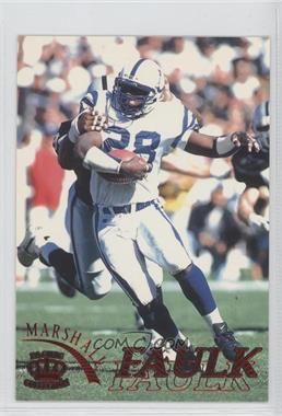 1996 Pacific Gridiron [???] #55 - Marshall Faulk