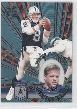 1996 Pacific Invincible [???] #I-36 - Troy Aikman