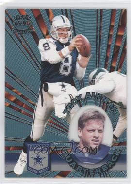 1996 Pacific Invincible Platinum Blue #I-36 - Troy Aikman