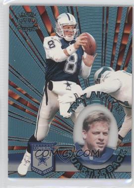 1996 Pacific Invincible Platinum Blue #I-36 - Troy Aikman