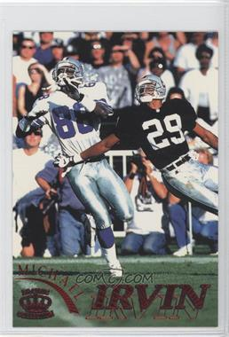 1996 Pacific Pure NFL Gridiron - [Base] - Red #31 - Michael Irvin