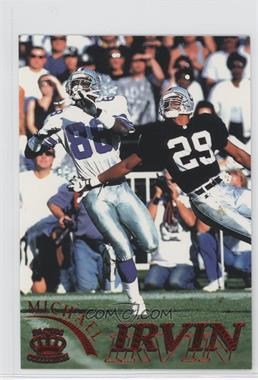 1996 Pacific Pure NFL Gridiron Red #31 - Michael Irvin