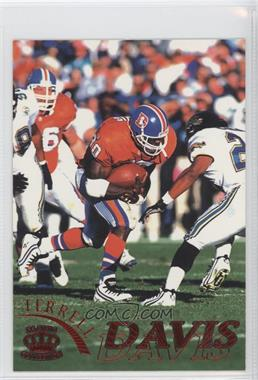 1996 Pacific Pure NFL Gridiron Red #35 - Terrell Davis