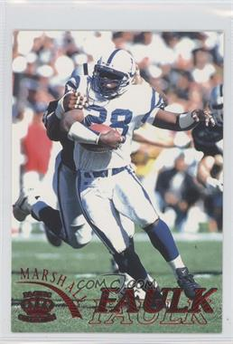 1996 Pacific Pure NFL Gridiron Red #55 - Marshall Faulk
