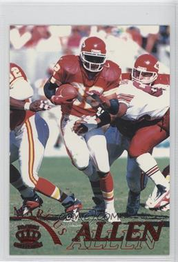 1996 Pacific Pure NFL Gridiron Red #60 - Marcus Allen