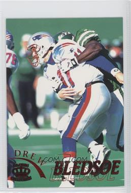 1996 Pacific Pure NFL Gridiron Red #72 - Drew Bledsoe