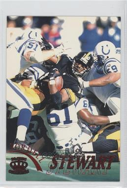 1996 Pacific Pure NFL Gridiron Red #98 - Kordell Stewart