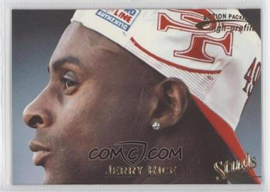 1996 Pinnacle Action Packed - Studs - Promo #3 - Jerry Rice